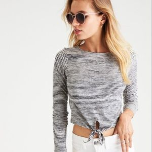 American Eagle Soft & Sexy Cropped Long Sleeve